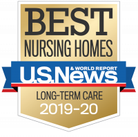 60 West is a US News and World Report Best Nursing Home for 2018-19 and 2019-20